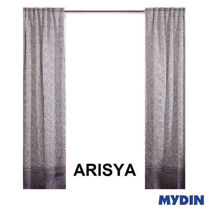 "Arisya Curtain 2 Panel Sliding Door WX20052SD (96'' x 90"") #Raya"