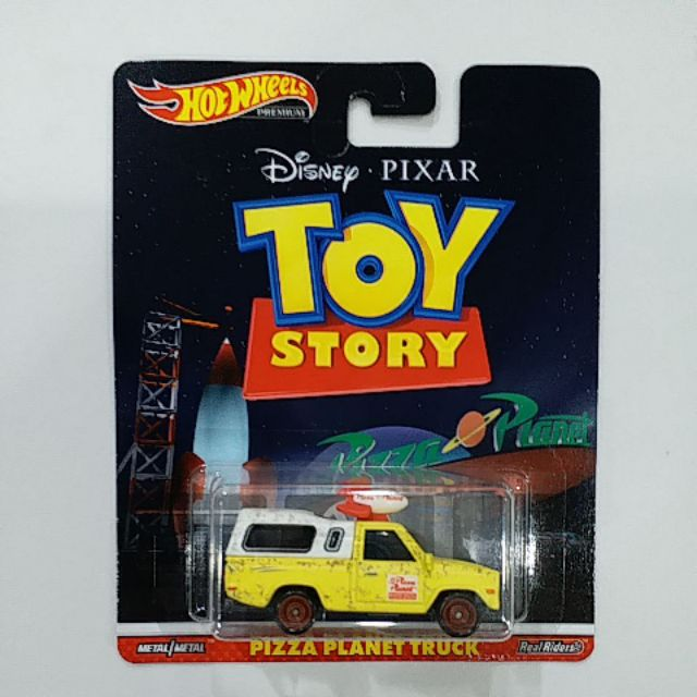 HOT WHEELS TOY STORY PIZZA PLANET TRUCK [2019 Retro