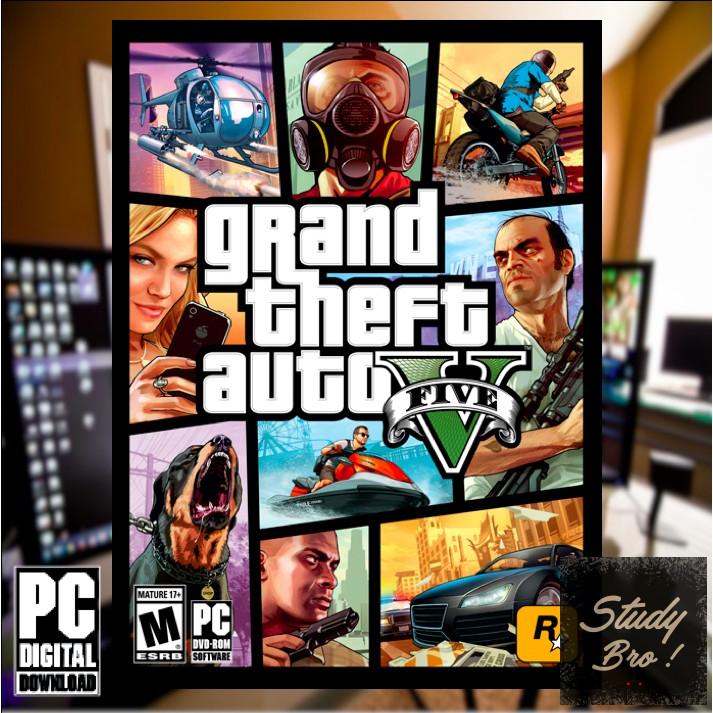 GTA v GTA 5 Grand Theft Auto 5 PC OFFLINE Game Digital Download