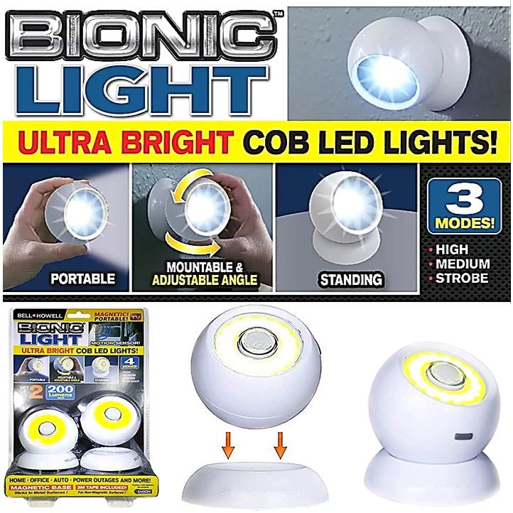 360 ° Magnetic Bionic Light Ultra Bright COB LED Light Security Motion  Sensor Camping Lamp Flashlight Torch Lampu Suluh   Shopee Malaysia