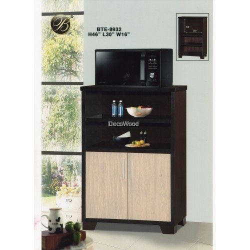 Kitchen Cabinet Rack Microwave Oven