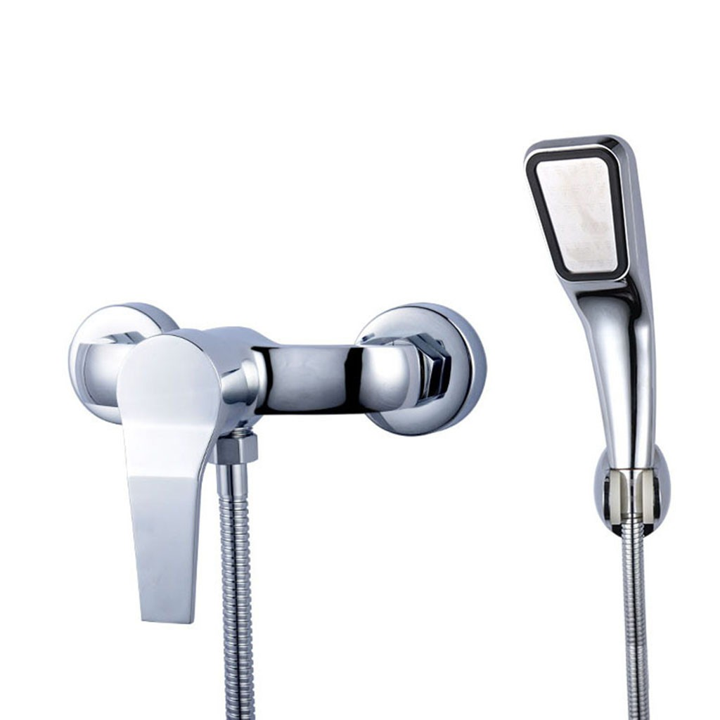 Bathroom Shower Faucet Bath Faucet Mixer Tap With Hand Held Shower Head Set
