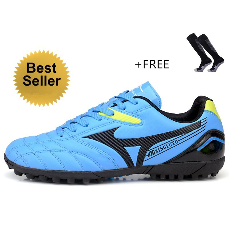 a799b1dddb9 ProductImage. ProductImage. Men s Boy s Outdoor Indoor Soccer Shoes  Comfortable Futsal Football ...