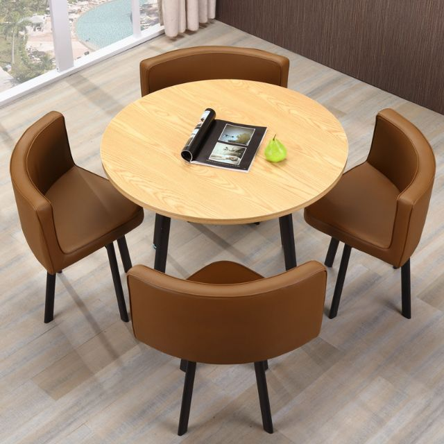 Small Round Coffee Table With 4 Chairs Shopee Malaysia