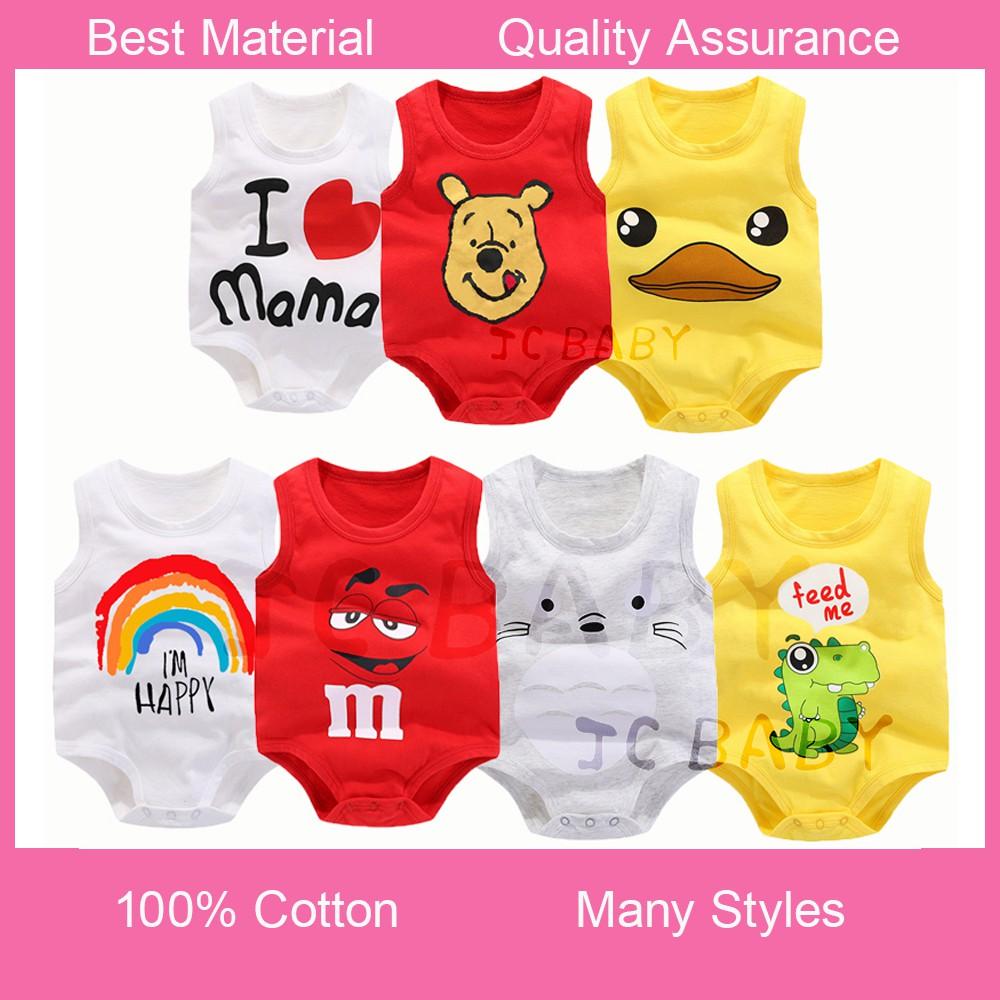 Red Friday Infant Baby Boys Girls Short Sleeve Romper Jumpsuit 0-2T