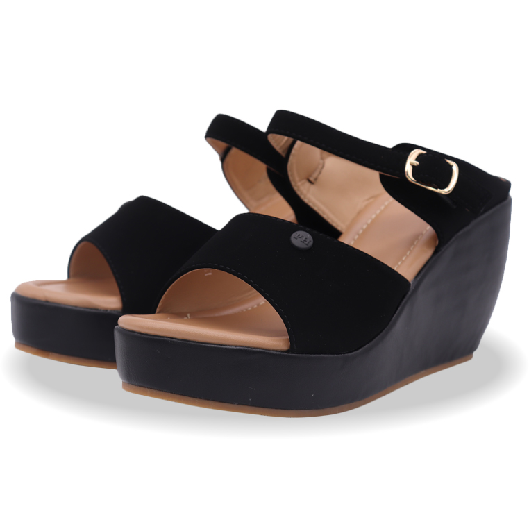 Polo Hill Ladies Ankle Strap Wedges PSW-0A-218