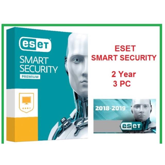 [ Genuine ] Eset Smart Security 2019 - 3 PC | 2PC | 1 PC