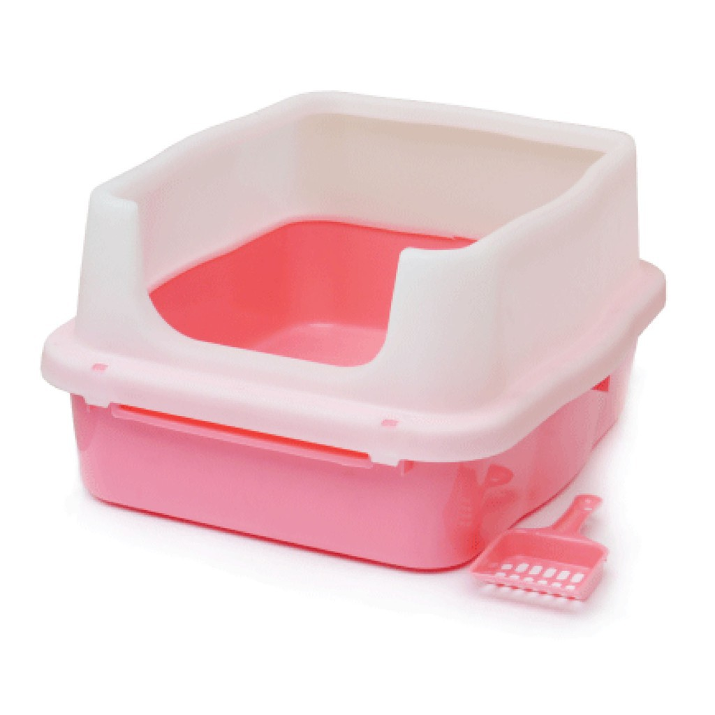 (Clearance Stock) 21 Inches Luxury Cat Litter Bedding | Cat Toilet Box | Cat Litter Pan (LP-3)