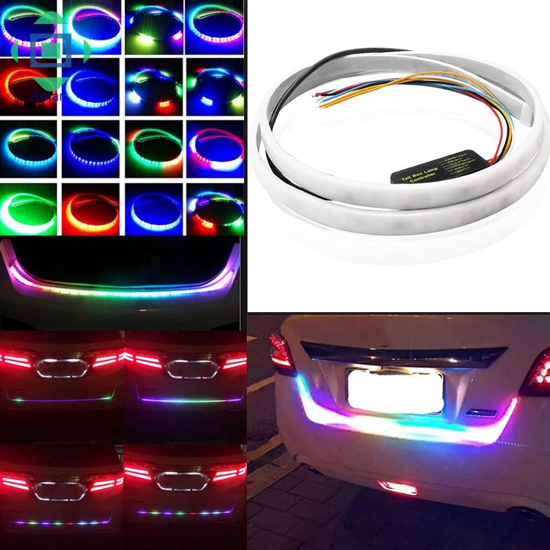 "Car Trunk Van LED Strip Light Tailgate Turn Signal Reverse Backup Brake Bulb 48/"""