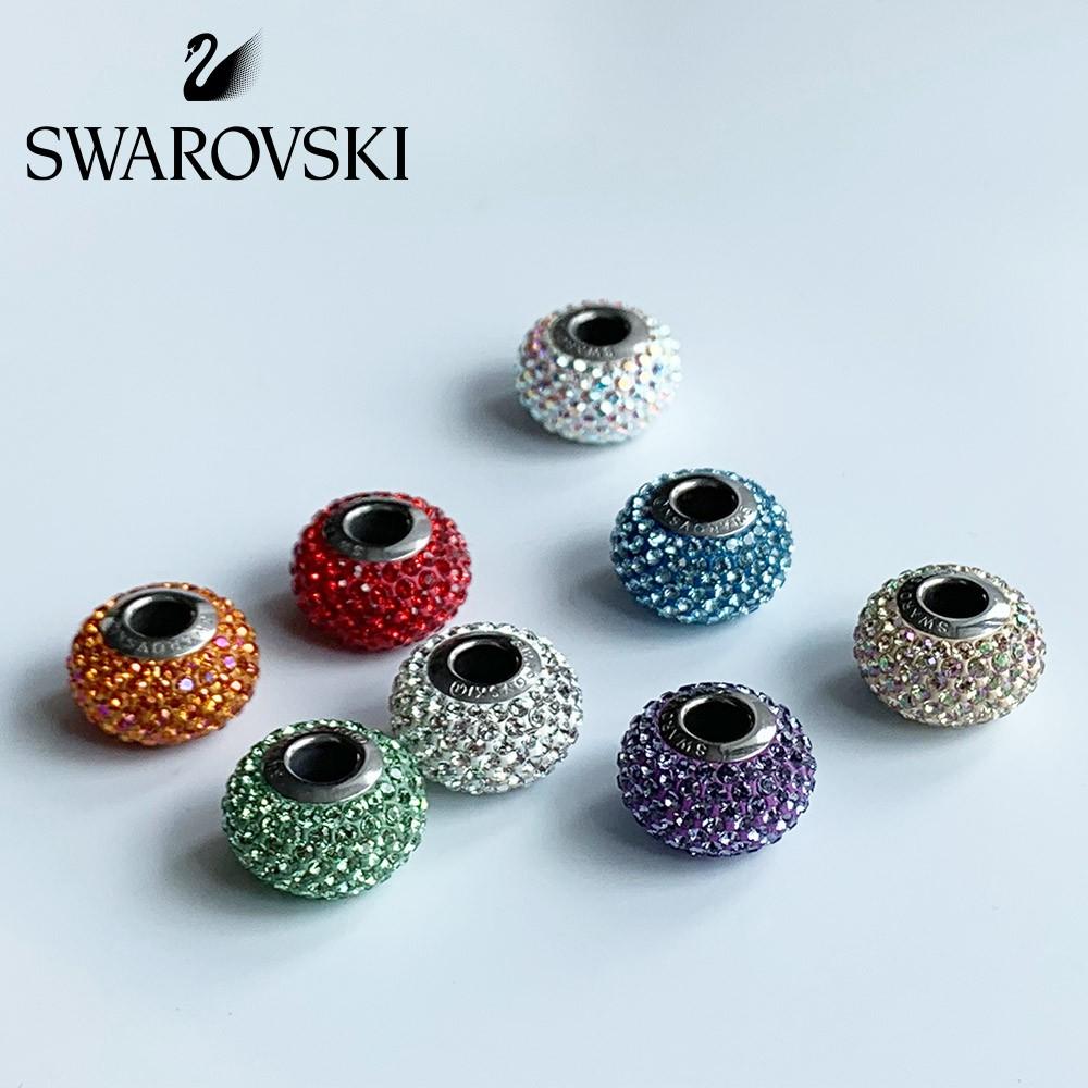 Swarovski Crystal Charms Beads Compatible with Pandora Bracelet