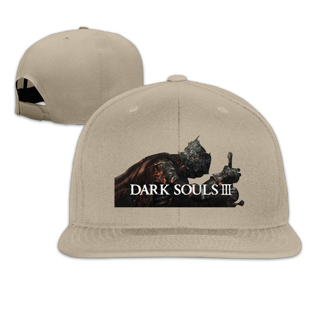 Yhsuk Dark Souls 3 Unisex Fashion Cool Adjustable Snapback Baseball Cap Hat  One  eaa20d92edb