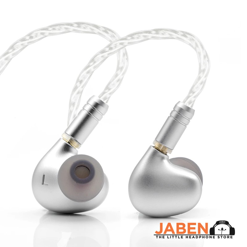 Tin HiFi T2 Plus MMCX NanoPure Nickel-zinc Alloy Dynamic Driver Wired 3.5mm In-Ear Earphones [Jaben]