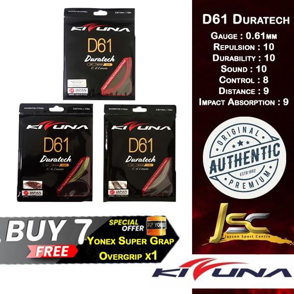 Kizuna D61 Duratech Badminton String