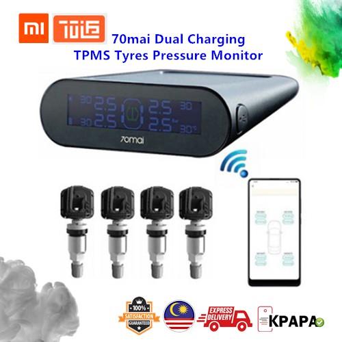 XiaoMi 70mai Dual Charging TPMS Tyres Pressure Monitor