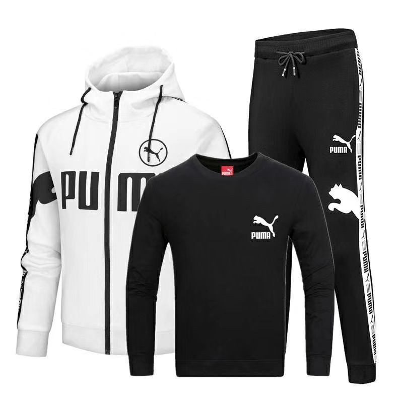 2c9c965543d52 PUMA SET 3 IN1 HOODIE SWEATER JACKET WITH SWEATPANT