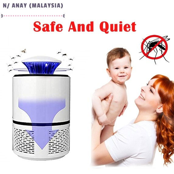 N/ANAY-S: ALAT PEMBUNUH NYAMUK SERANGGA Mosquito Killer Lamp Insect Trap UV Light