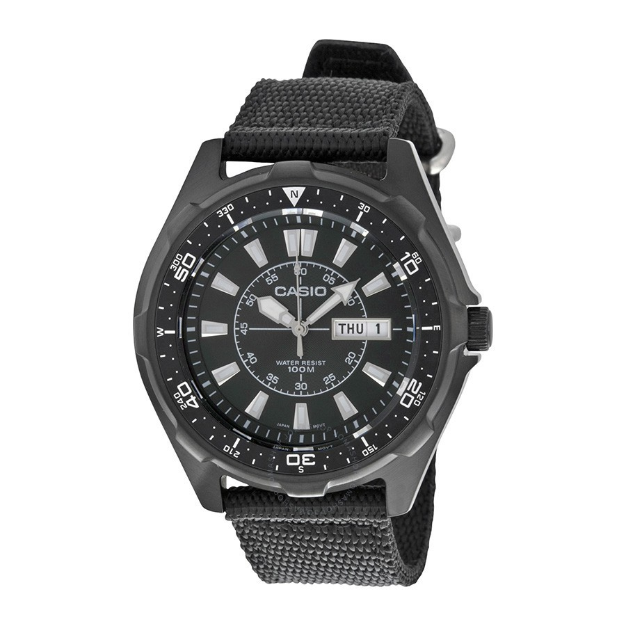 Casio Outgear Amw 110 1a Nylon Strape Watchoriginal Fossil Fs5182 Set Citizen Promaster Nighthawk Euro Pilots Watch Bj7017 09e Shopee Malaysia