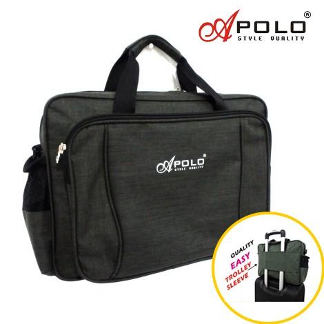 Waterproof Boarding Travel Bag with Trolley Sleeve Tuition Bag Shouder Bag