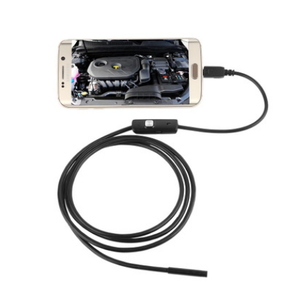 Waterproof 7mm USB industrial endoscope USB endoscope.