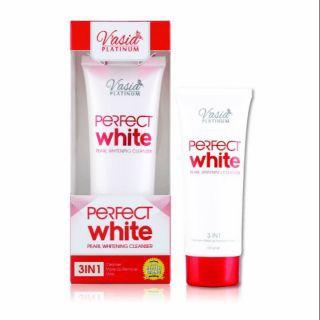 VASIAPERFECT WHITE CLEANSER 100GM 100% ORIGINAL HQ+FREEGIFT