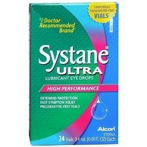 Alcon Systane Ultra Lubricant Drops 24 x 0.5ml
