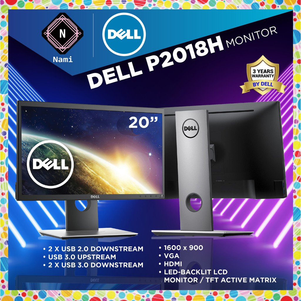 Dell P2018H 19.5-inches Professional Series Monitor