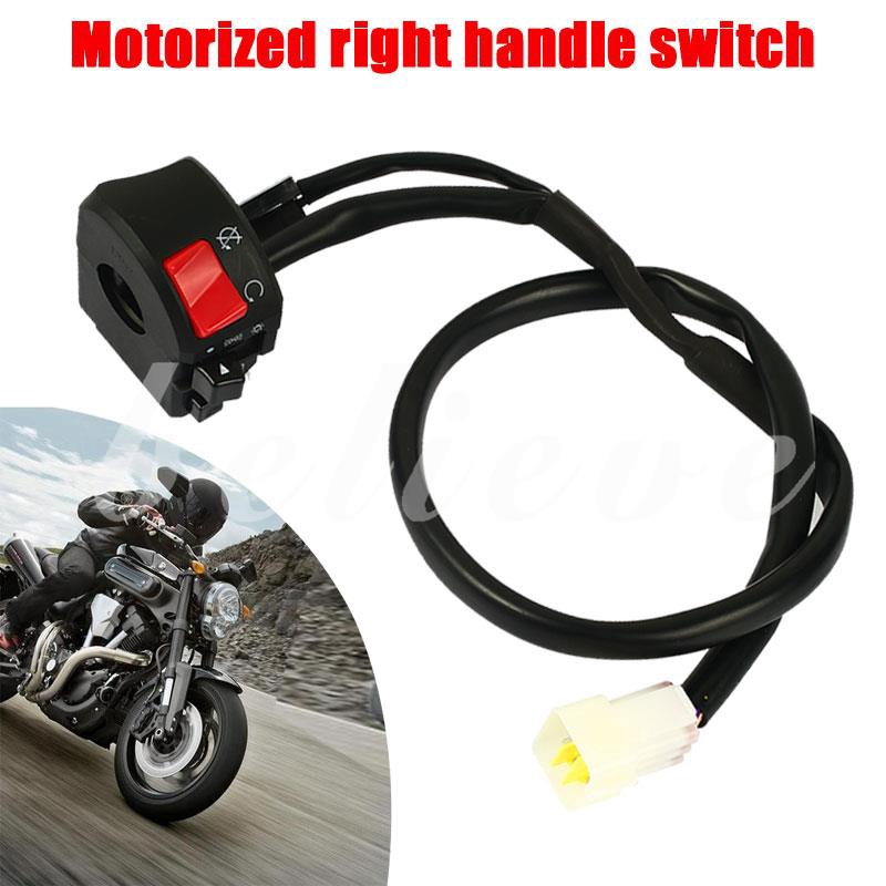 22mm universal handle switch refitted for motorcycle