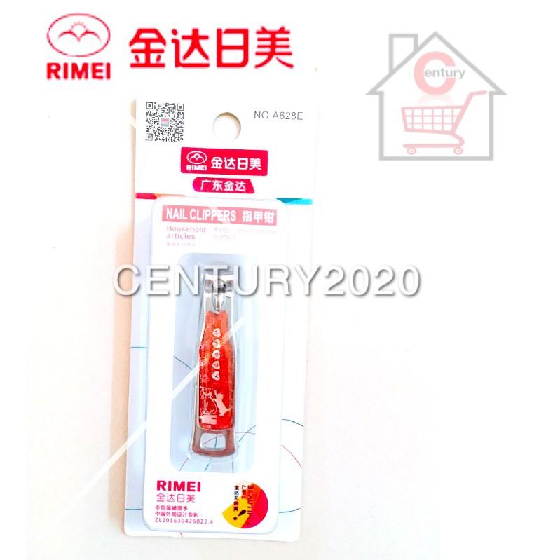 RIMEI Nail Clipper Manicure Care Nail Cutter High Grade Stainless Steel Nail Cutter A628E