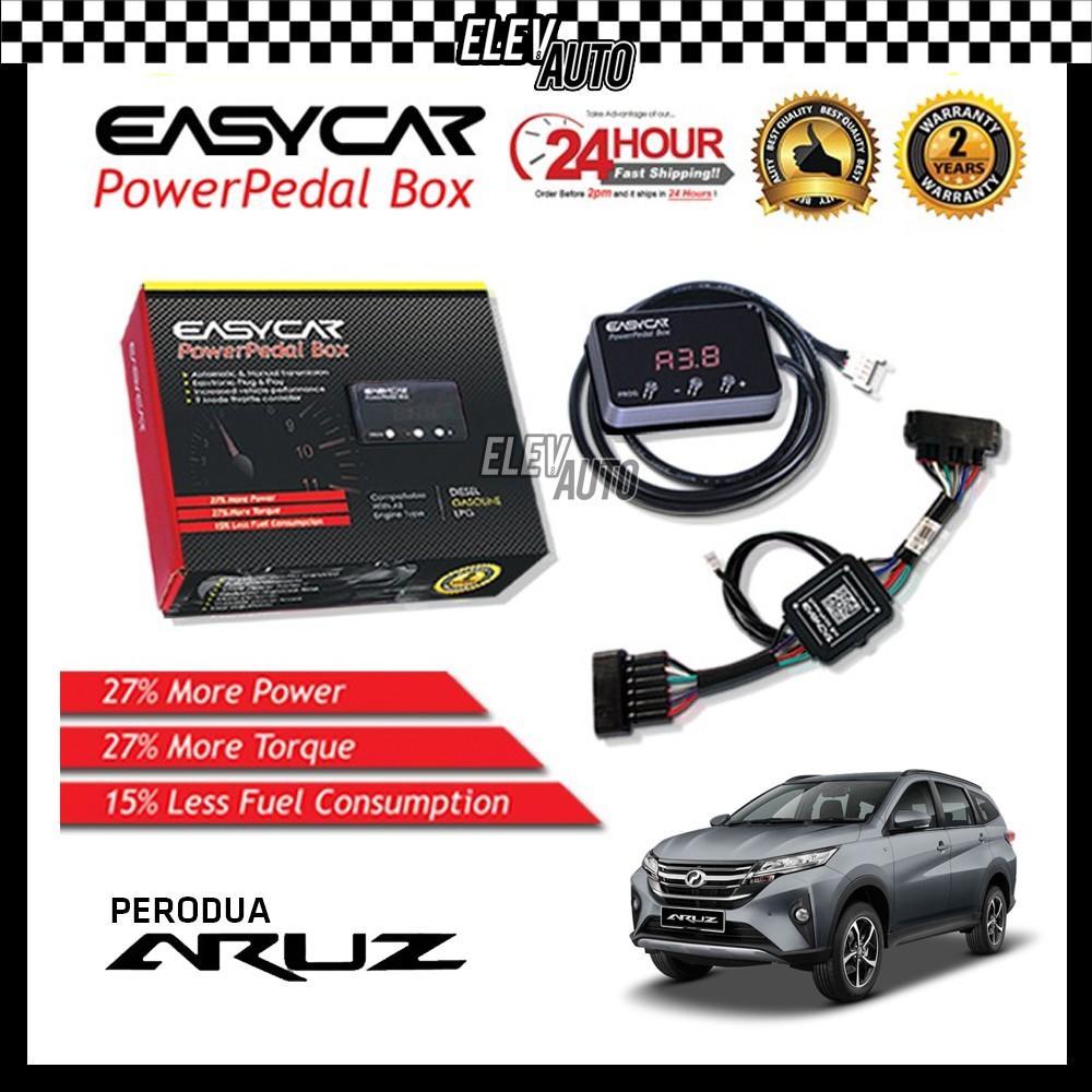 Perodua Aruz EASYCAR Power Pedal Box Accelerator Pedal Car Electronic Throttle Response Controller