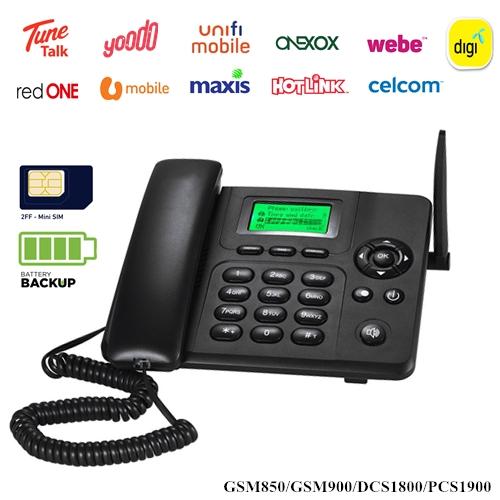 ReachCom GSM200 2G/GSM Quadband Wireless Desktop Phone