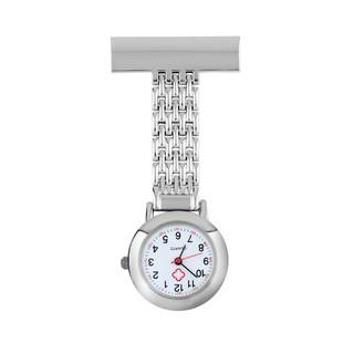 9b335626013 Stainless Steel Arabic Numerals Quartz Brooch Doctor Nurse Pocket Watch |  Shopee Malaysia