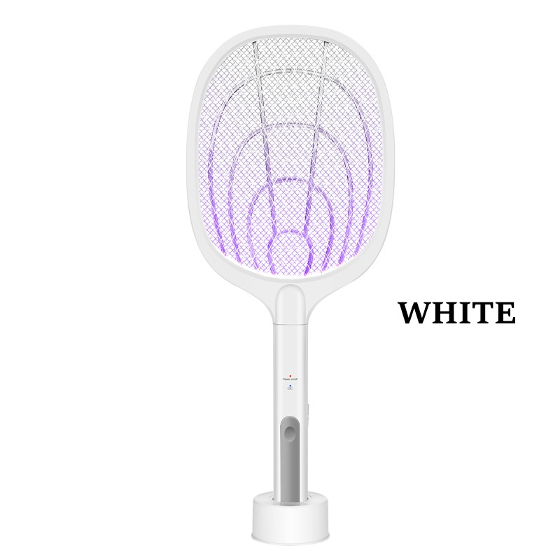 GDeal 2 In 1 Electric Insect Racket Mosquito Swatter USB Rechargeable Dual Modes Mosquito Killer Lamp