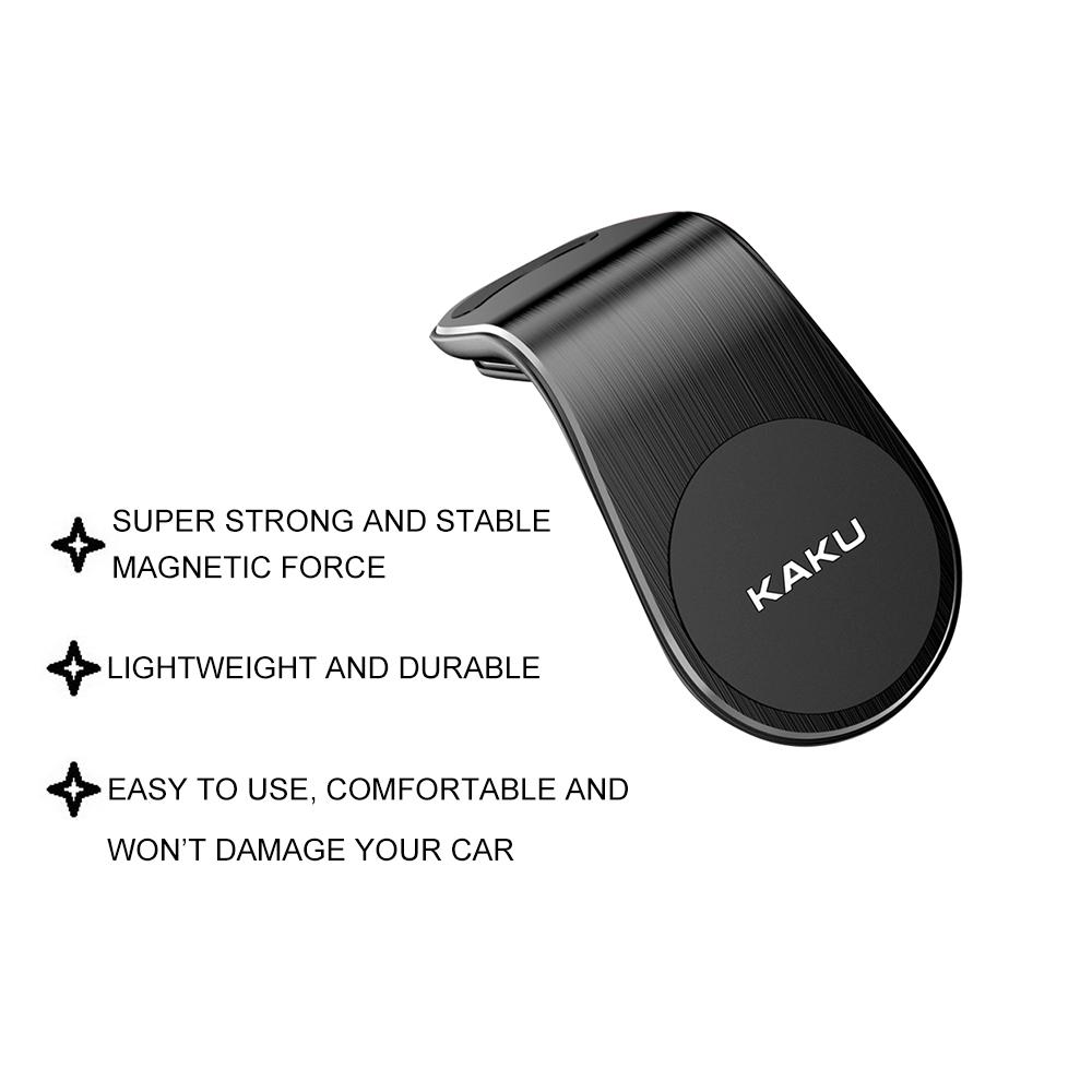 IKAKU KAKU AOLI Magnetic Air Vent Car Driver Clip Stand Mobile Phone Holder Metal Smartphone iOS Android Waze Google Map