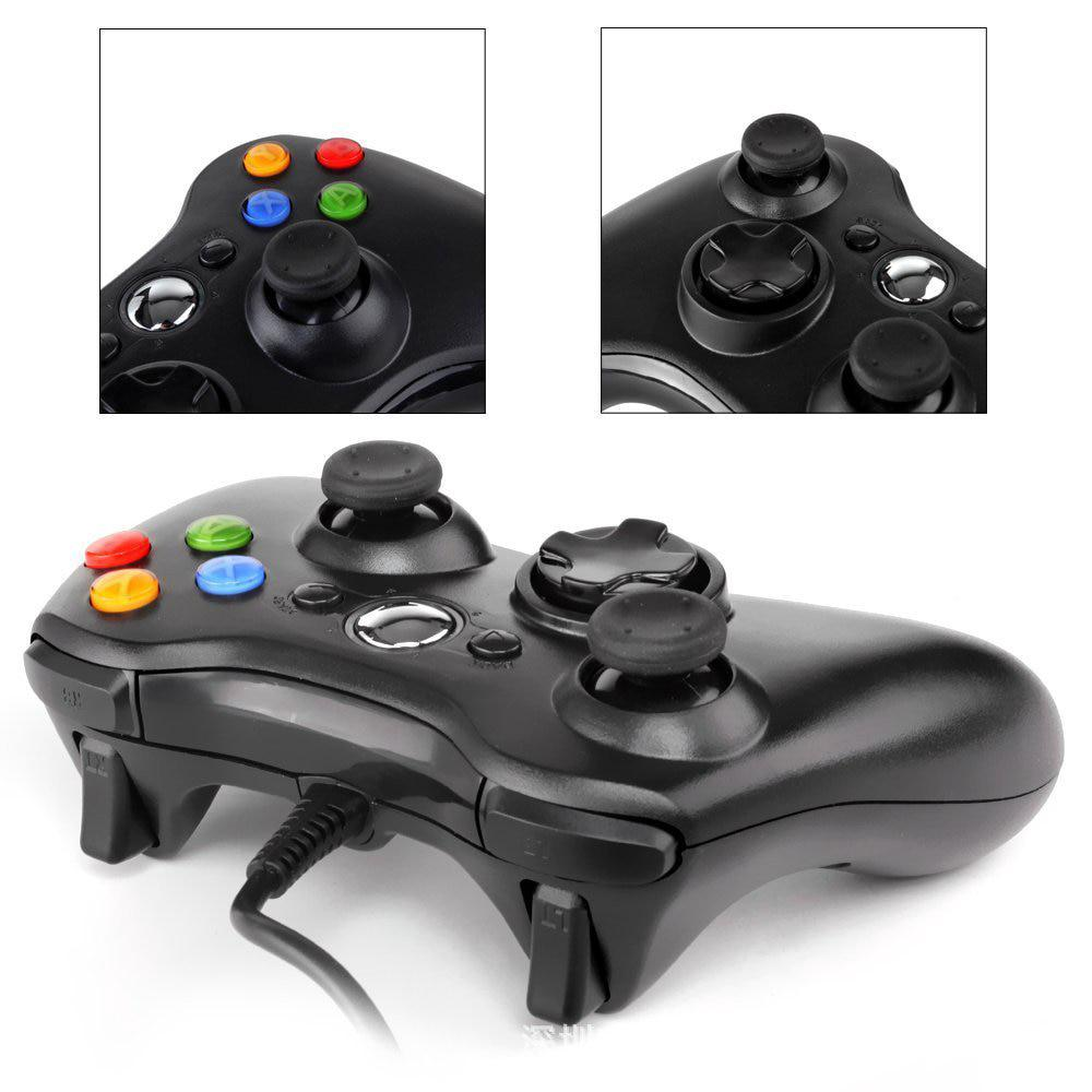 For Xbox Slim 360 Joystick USB Wired Game Controller For