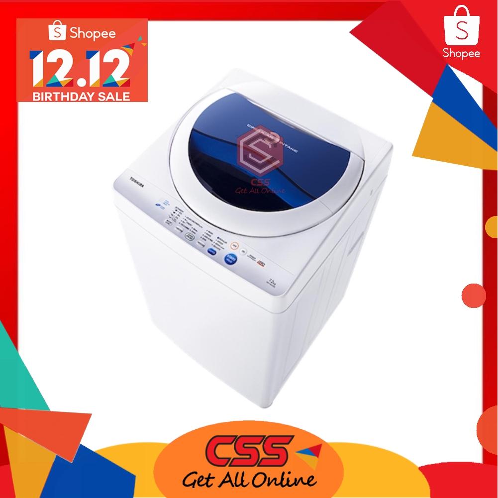 Toshiba 7.2Kg Auto Washing Machine AW-F820SM