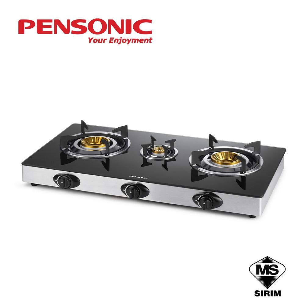 Pensonic Glass Top Gas Cooker PGC-3201G