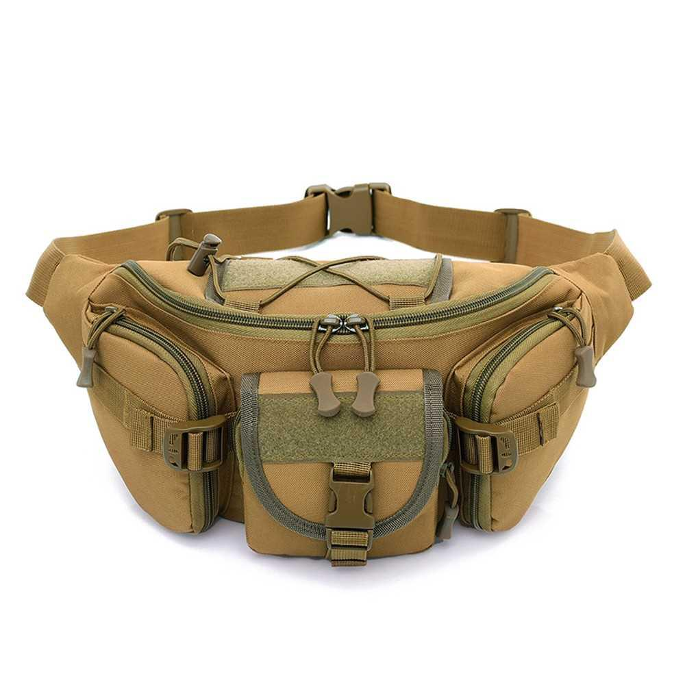 7ab83055a6ef Free Knight Outdoor Molle Waist Pack Fanny Packs Hip Belt Bag Pouch ...
