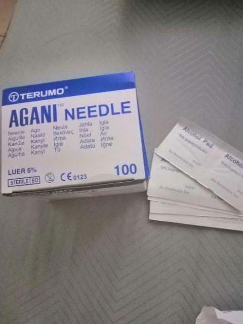 Terumo Agani Needles 18G to 30G | Shopee Malaysia