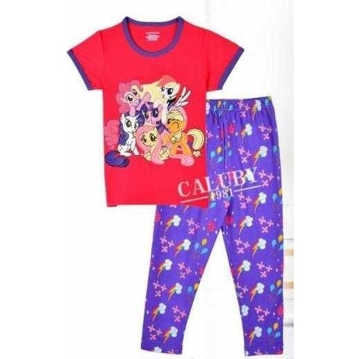 LITTLE PONY PYJAMAS FOR KIDS AGE 2 YRS OLD