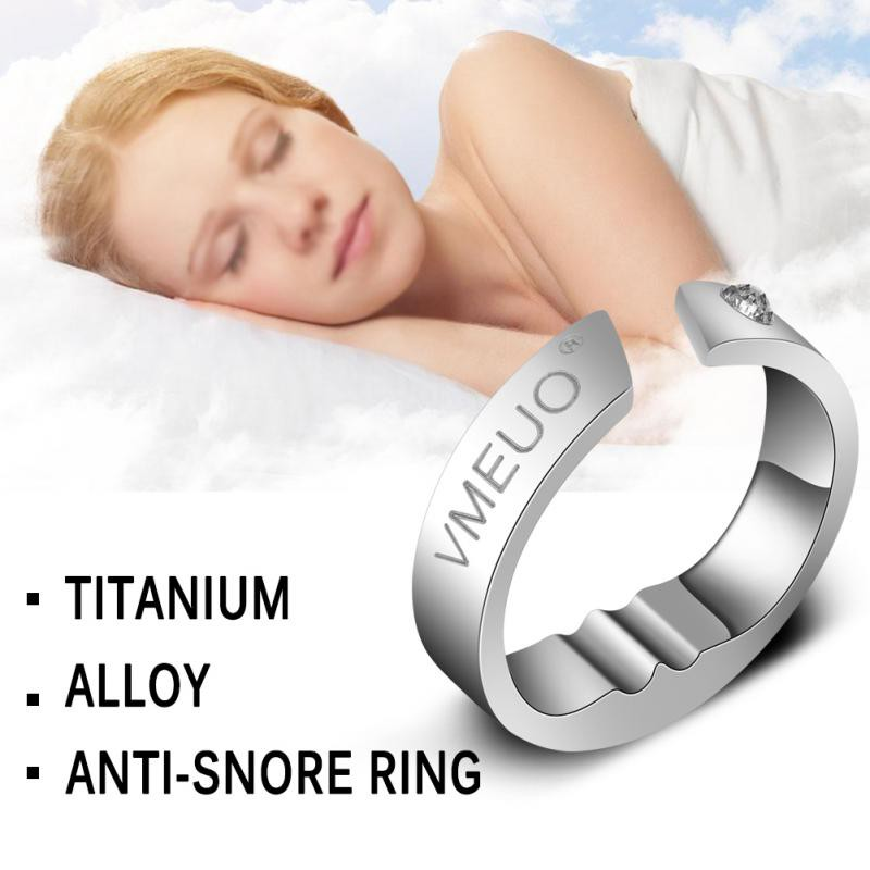Anti Snoring Ring Stopper Sleeping Breath Aid Acupressure Stop Snore Device   Shopee Malaysia