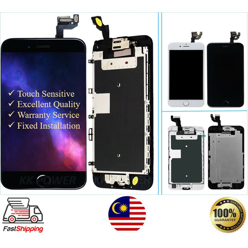 IPHONE 4/4s/5/5S/6/6P/6S/6SP/7/7P/8/8P with LCD TOUCH SCREEN DIGITIZER