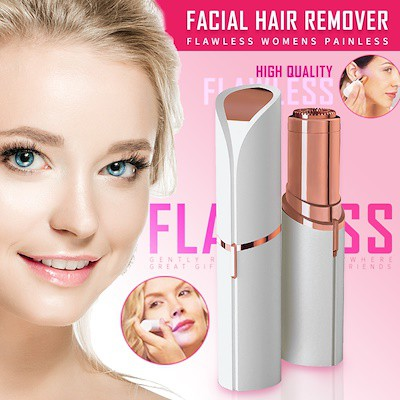 Mini Flawless Womens Painless Facial Hair Epilator Hair Removal