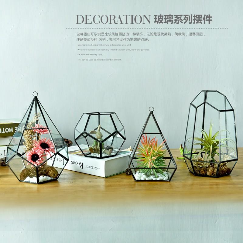 hop coffee shop display living room balcony micro landscape decoration  ornaments