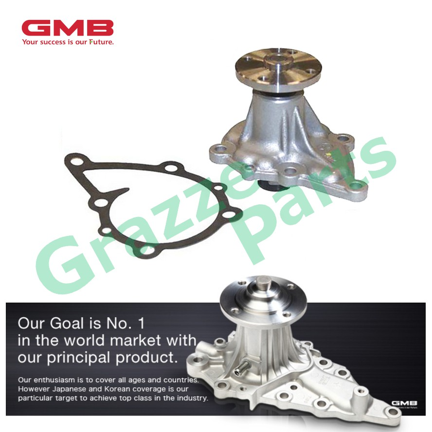GMB Engine Water Pump GWN-02A for Nissan B210 B110 C120