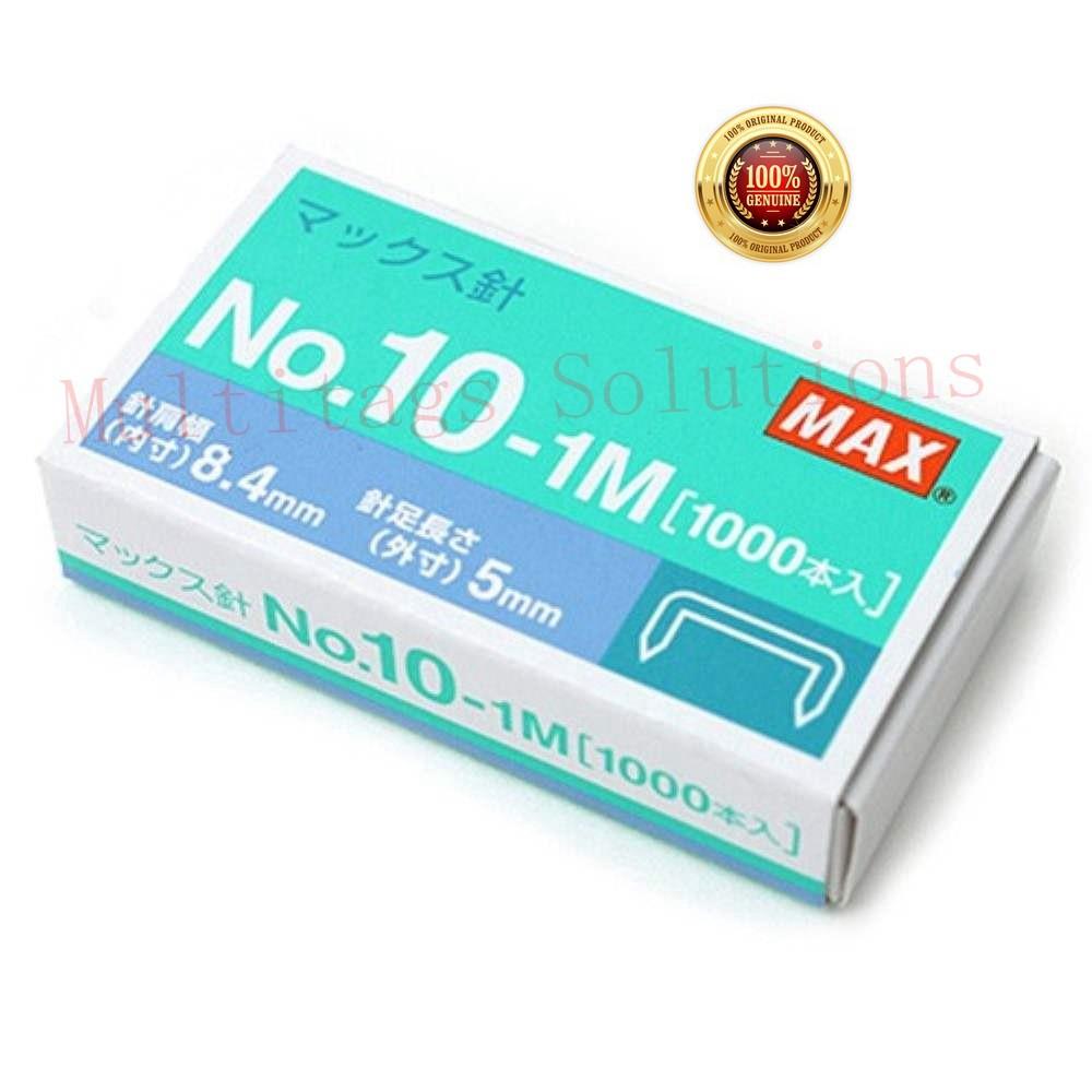 Max Staples No.10-1M Dawai Kokot Ubat Stapler HD-10