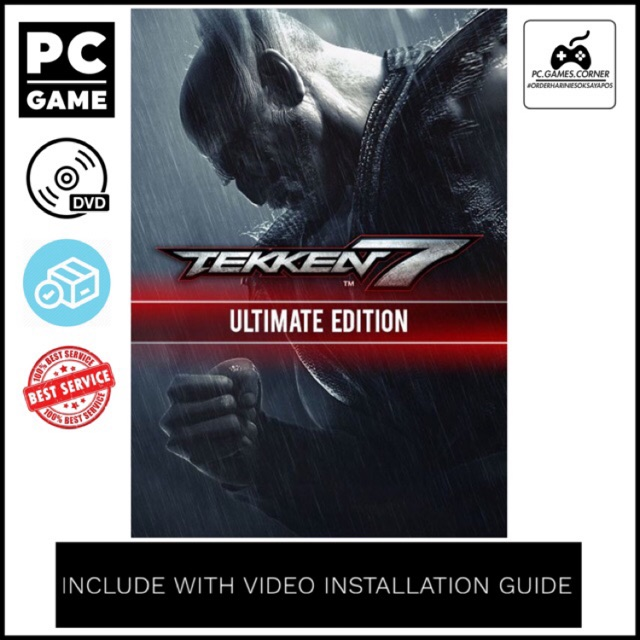 [PC Game] TEKKEN 7 Ultimate Edition v2 21 - Offline [DVD]
