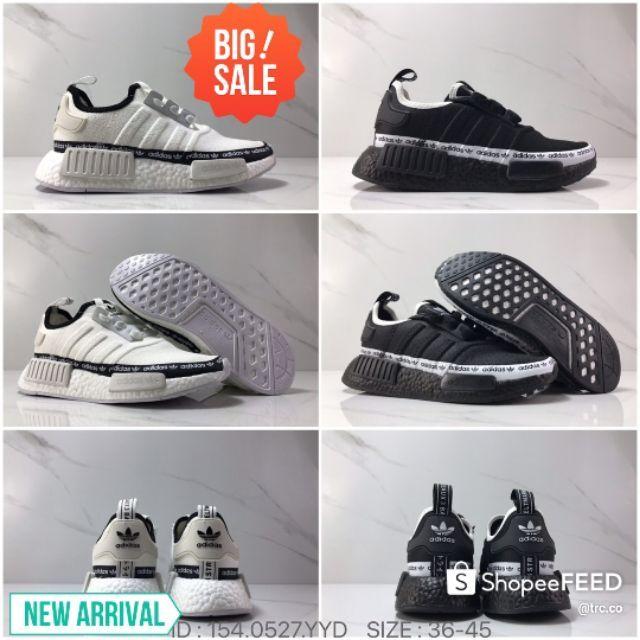 Adidas Nmd R1 154.0527.YYD Fashion Latest Design Unisex Lifestyle Men\'s Running Shoes Premium