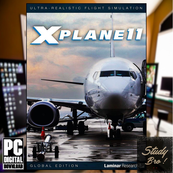 X-Plane 11 Global Edition - PC OFFLINE Game [Digital Download] | PC GAME