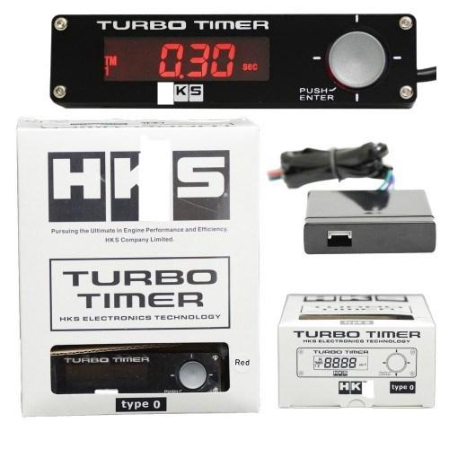 Brand H Car Turbo Timer Type 0  LED Display (Red)