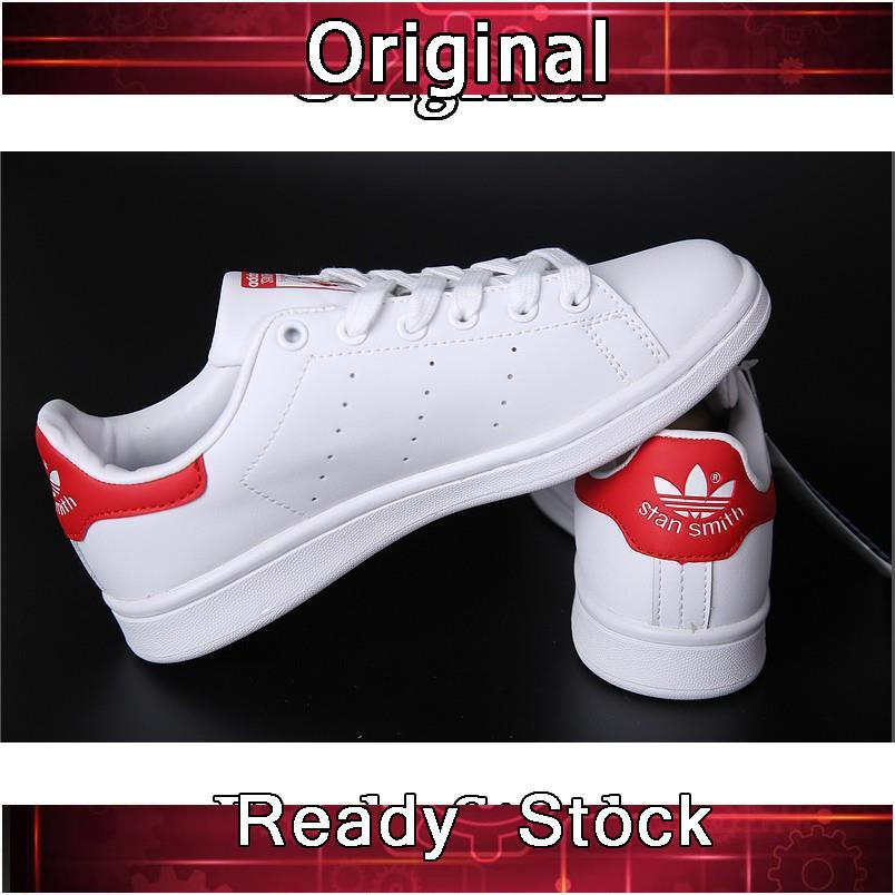 4078cedd25c8d Adidas Originals Stan Smith Casual Breathable Sneakers Red | Shopee ...